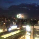江戸川の花火大会 穴場は本八幡?